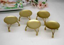Portavelas dorado De hierro geométrico, Mesa De Metal, luz De té, Centro De Mesa, adornos De decoración