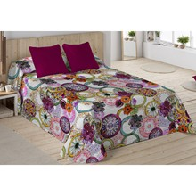 Bedspread BOUTY GREGALE PURPURA HOME