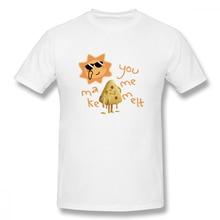 2019 Mens Basic Short Sleeve T-Shirt 3D Print t shirt You Make Me Melt Feel Hot Weather Cotton Funny T-shirt home Top Tees