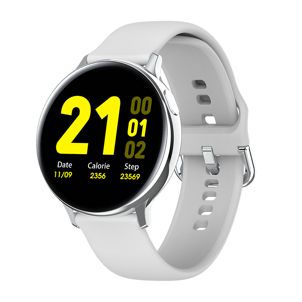 LEMFO S20 1.4 Inch Full Touch Screen ECG Smart Watch Men IP68 Waterproof Sport Smartwatch 7 Days Standby For Android IOS Phone
