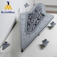 BuildMoc, супер Звездный разрушитель, конструктор, Звездные войны, класс, Звездный Дредноут, корабль, техника, Звездные войны, 10221, 10030, игрушки, Подарочные кубики
