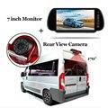 7-дюймовый светодиодный HD монитор заднего вида с камерой заднего вида  стоп-светильник для Fiat Ducato Peugeot Boxer для Citroen