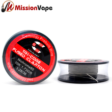 Coilology Prebuilt NI80 Tri-Core Fused Clapton 3*28/36 AWG Gauge 1.73ohm 10 Feet Heating Wire