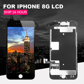 Suitable for iPhone 8G  LCD 4.7 touch screen and replaceable LCD full screen, equipped with front camera speaker   gift