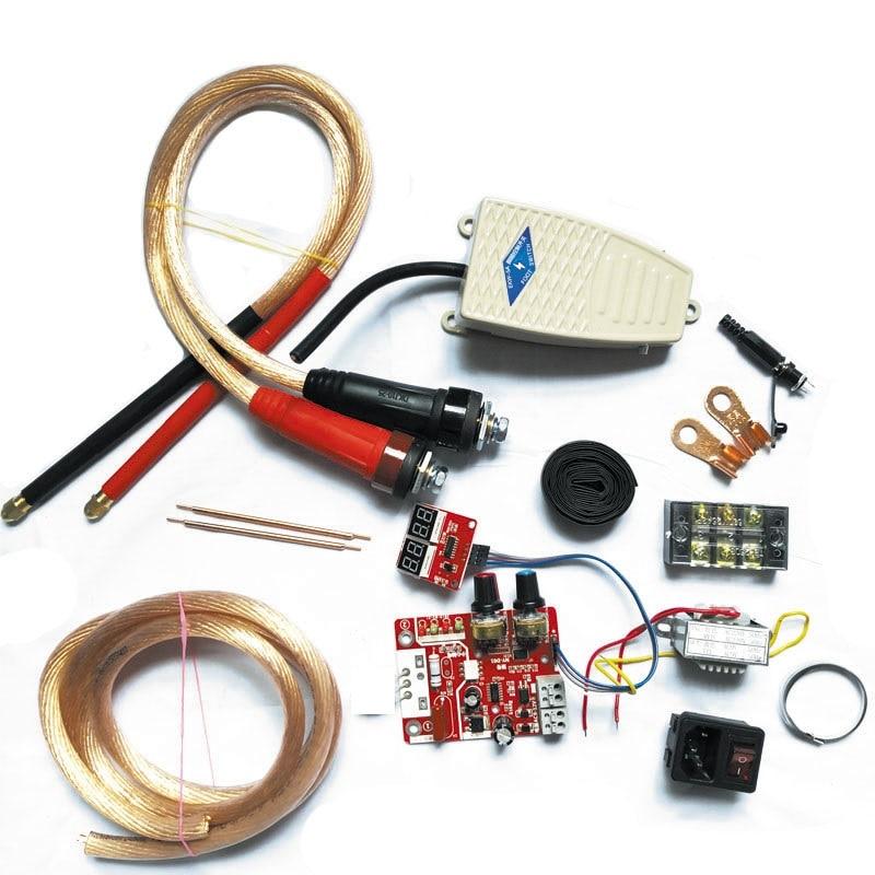 100A Single Pulse Spot Welder DIY Assembly Kit Spot Welder Transformer Controller
