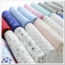 Infant Baby Cotton Fabric Double-Sided Knitted Strechy Jersey Fabrics for DIY baby clothing making fabric