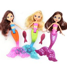 Waterproof Doll With Comb Bath Toys Dolls Accessories Girl Favors Kids Toy Gifts 97BE