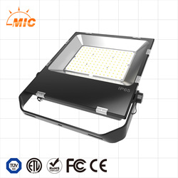 Unique design 150w High lumen 130lm/w outdoor IP65 LED flood light