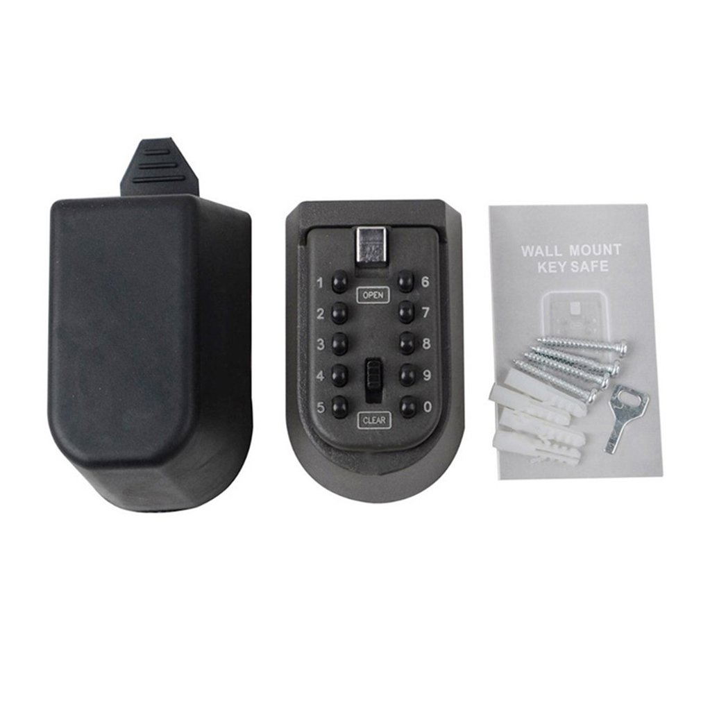 Iron Wall Hanging Key Code Lock Thickening Metal Key Box