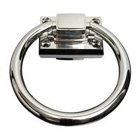 1Pcs Shiny Silber Drop Pull Ring Holz Türklopfer Stuhl Zieht Griff holz tür Pull Entfalten Installieren-in Türgriffe aus Heimwerkerbedarf bei