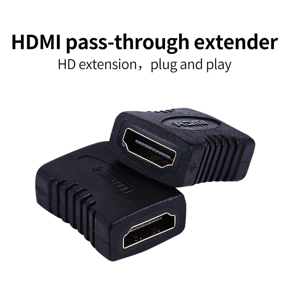 Kshd HDMI-совместимый удлинитель кабеля, переходник-разветвитель «мама» для ноутбука, телевизора 1080*4K * 2K 3D