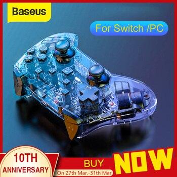 Baseus Bluetooth Wireless Controller Fernbedienung Gamepad Für Nintend Schalter Konsole Für NS Für PC Controle Joystick Spiele Zubehör