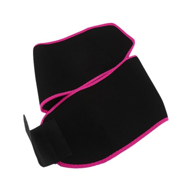 Adjustable Waist Support Waist Trimmer Belt Weight Loss Sweat Band Wrap Fats Tummy Stomach Sauna Sweat Belt For Walking Jogging- 4