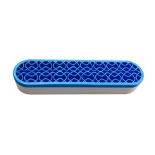 Beauty Unique ABS Silicone Makeup Brushes Storage Box Desktop Cosmetic Brush Organizer Lipstick Hold