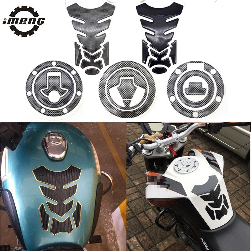 #55 Car Motorcycle Gas Feul Tank Protection Sticker FOR yamaha tdm 850 honda xr 250 suzuki intruder bmw g310r MOTO ACCESSORIES