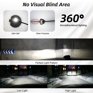 Image 5 - 2 قطعة 24 رقائق H1 H7 H8 H11 LED مصباح سيارة العلوي لمبات HB3 9005 HB4 9006 3D LED في Canbus 360 درجة 6500K 18000LM السيارات ضوء 12V