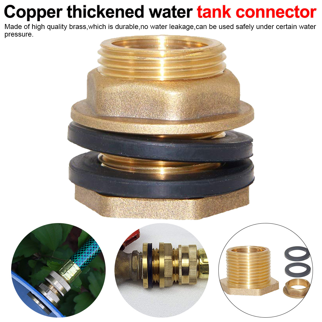 Copper Water Tank Connector 1/2