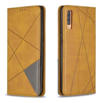 Magnetic Leather Case Galaxy A70 4