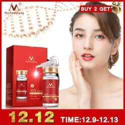 Argireline seis péptidos reparación concentrado rejuvenecimiento emulsión Anti arrugas suero para el cuidado de la piel productos Anti-envejecimiento ácido