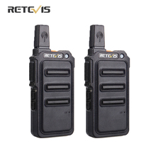 RETEVIS Walkie Talkie RT19/RT619 Radio PMR FRS/PMR446, 2 uds., VOX, codificador de frecuencia, receptor de Radio bidireccional, Comunicador