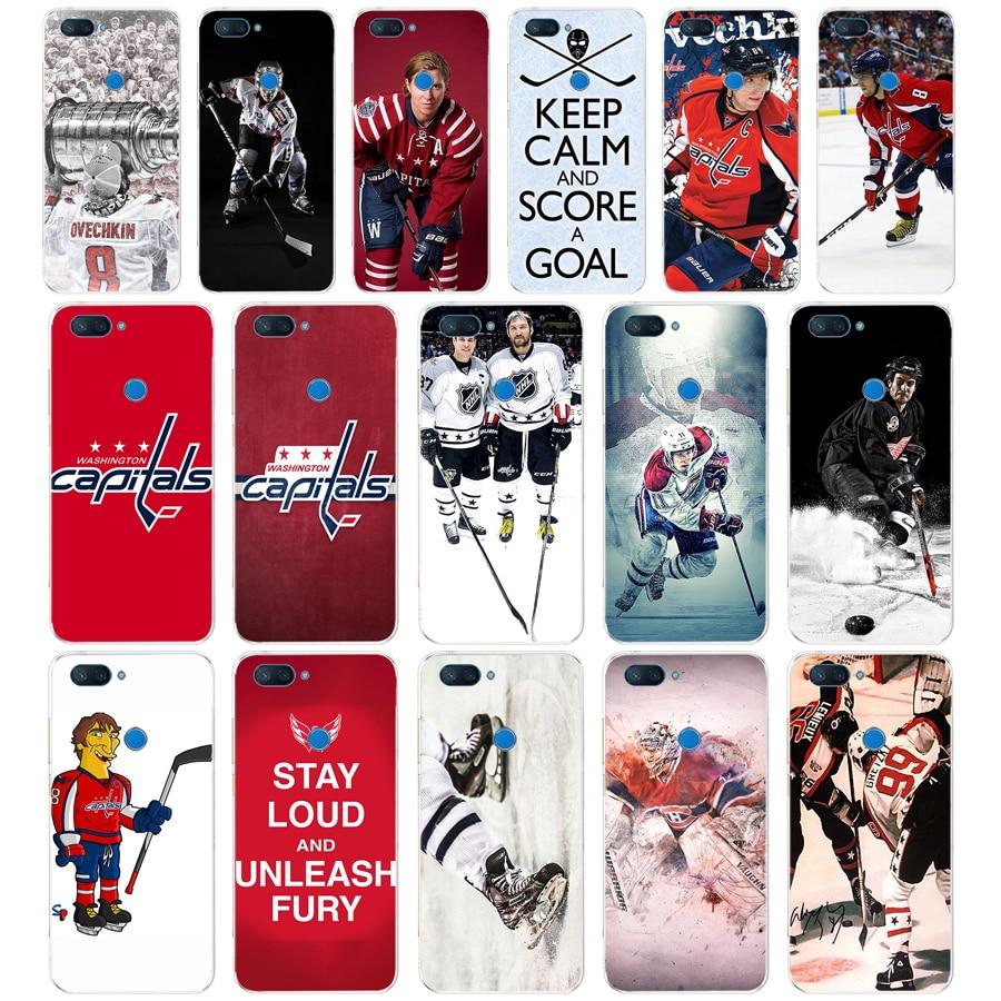 182FG Ice Hockey Alexander Ovechkin Sidney Crosby Soft Silicone Tpu Cover phone Case for xiaomi redmi mi 8 A1 A2 lite(China)