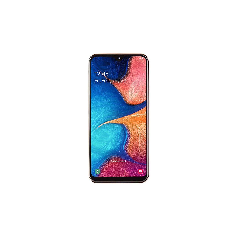 Samsung Galaxy A20e, Coral Color, Internal 32 Hard GB De Memoria, 3 Hard GB RAM, Dual SIM, Screen 5.8
