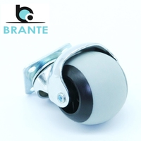 Furniture Casters Brante 655058 hardware wheels for a chair castor for furniture roller skates rollers