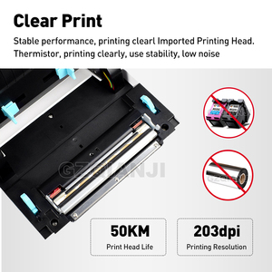Image 2 - 4 inch Thermal Barcode Printer Label Printer Shipping Lable Printer 100*100 / 100*150 UPS DHL Fedex Shipping Express Lable Print
