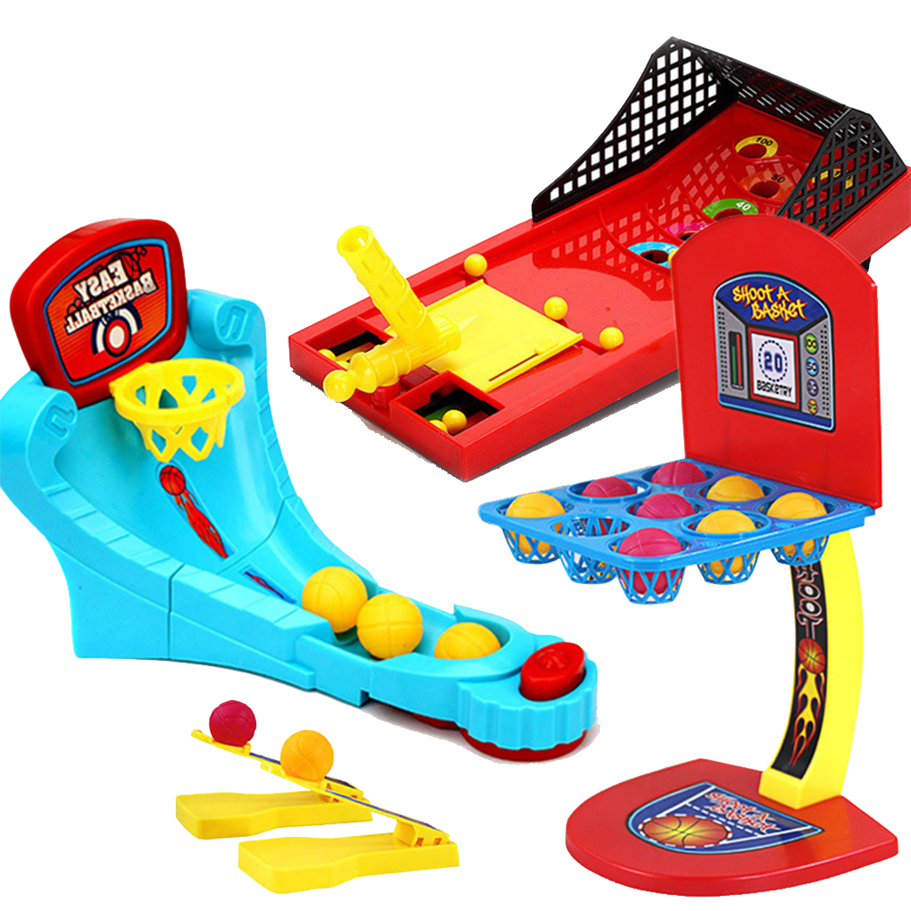 Children Mini Basketball Shooting Board Game Learning Desktop Toys Marble Game For Early Education Baby Toys