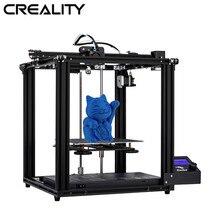Originele Creality 3D Ender 5 Printer Dual Y Core As Xy Gesloten Structuur V1.1.4 Moederbord Ingebouwde Merk voeding