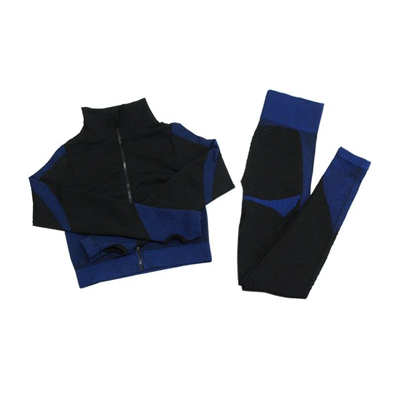 2pcs Black Blue