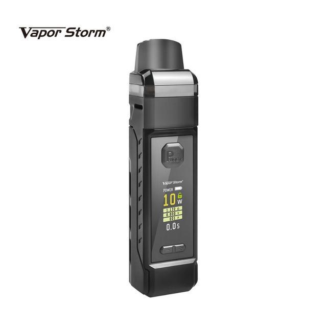 Vapor Storm PM Pod Mod batteria esterna 18650 0.3 0.6ohm 2 bobine 4.8ml Pod System Vape vaporizzatore sigaretta elettronica VS VINCI X