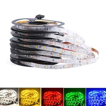 цена на DC 12V LED Strip Light RGB SMD 2835 PC 50CM-5M Neon Tape Lamp Ambilight Diode Waterproof Neon RGB Led Light Strip TV Backlight