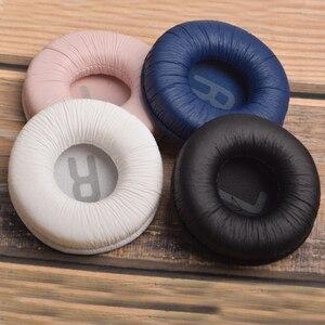 Image 5 - 1 Pair Replacement foam Ear Pads pillow Cushion Cover for JBL Tune600 T450 T450BT T500BT JR300BT Headphone Headset 70mm EarPads