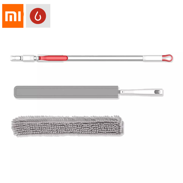 Xiaomi Mijia Yijie YB 01 Cloth Cleaning Brush Mop Bendable Duster Double sided Available Whisk Cleaning tools