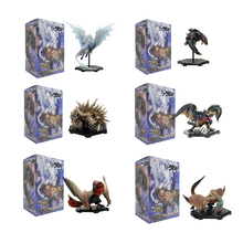 Anime Monster Hunter World ICEBORNE DLC Vol14 Blind Box PVC Action Figure Dragon Decoration Toy Model Collection Christmas Gifts