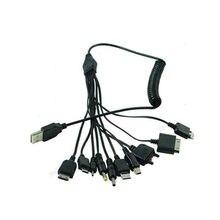 10 шт/лот Многофункциональный зарядный кабель в 1 универсальные