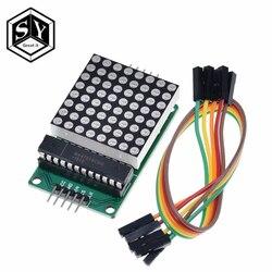 Модуль управления светодиодным дисплеем 8x8 8*8 MAX7219 для Arduino, интерфейсный модуль 5 В, выходной вход, общий катод