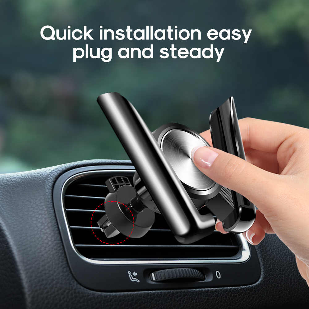 MEIDI staffa Dell'automobile per il telefono cellulare Air vent supporto Della Culla Del Supporto Del Telefono Dell'automobile Universale per iPhone Sumsang Xiaomi HUAWEI