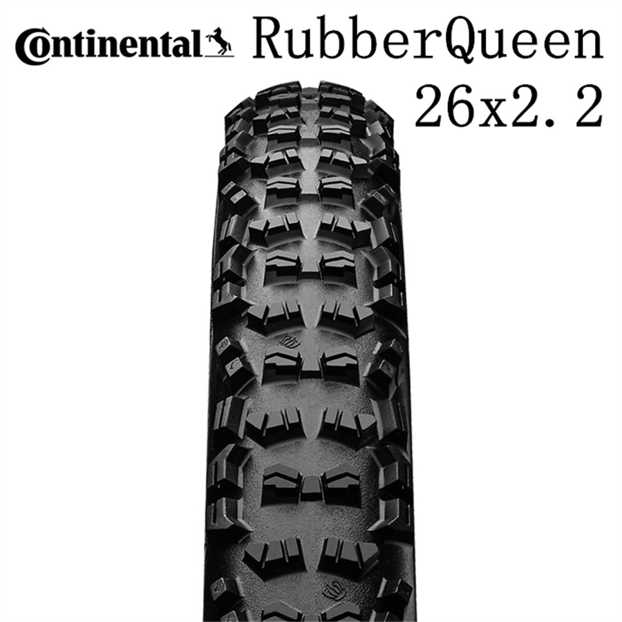 Continental MTB bike foldable Tyre Rubber Queen Tire Mountain Bicycle tires <font><b>26x2.2</b></font> tubuless tire image
