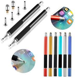 100 pçs/lote stylus desenho tablet canetas tela de toque capacitivo para ipad apple 1 2 3 celular android caneta inteligente acessórios
