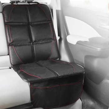 Car Seat Cover Oxford PU Leather Car Seat Protector Mats Child Baby Pads Seat Protective Mat For Baby Kids Protection Cushion car front seat cover pad pu leather car seat mat chair cushion car interior protective cover car seat soft cover