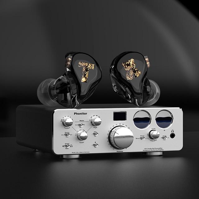 TFZ/Tx Bear 3,Monitor Earphones HIFI Headset with High Quality Tri-Motion Iron Music 2