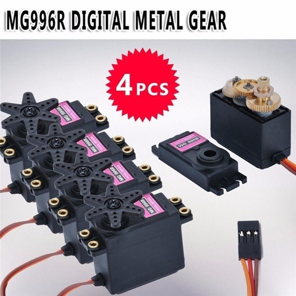 4pcs/2pcs Servo Digital MG995 Metal Gear Torque RC Motor For Auto RC Car Crawler Boat Plane For Dropshipping Wholesale , CSV