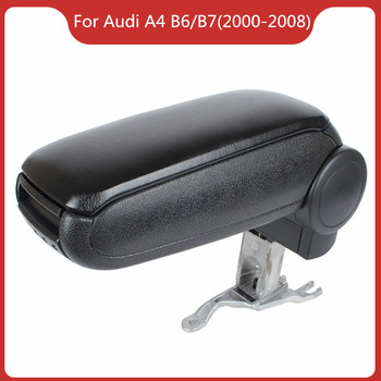 Free Shipping FOR AUDI A4 B6/B7 (2000-2008) Car ARMREST,Car Interior Accessories Auto Parts Center Armrest Console Box Arm Rest upgraded car styling car arm rest accessories accessory mouldings protector automobiles armrest box 02 03 04 for chevrolet sail