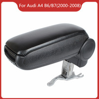 Free Shipping FOR AUDI A4 B6/B7 (2000 2008) Car ARMREST,Car Interior Accessories Auto Parts Center Armrest Console Box Arm Rest