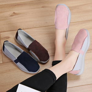 Image 5 - STQ Autumn Women Flats Loafers Shoe Ballet Flats Woman Slip On Chaussures Femme Ladies Flats Walking Boats Shoes 7761