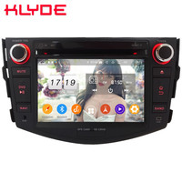 Klyde 4G WIFI Android 9.0 Octa Core 4GB RAM 64GB ROM DSP BT FM Car DVD Multimedia Player Radio Stereo For Toyota RAV4 2006 2012
