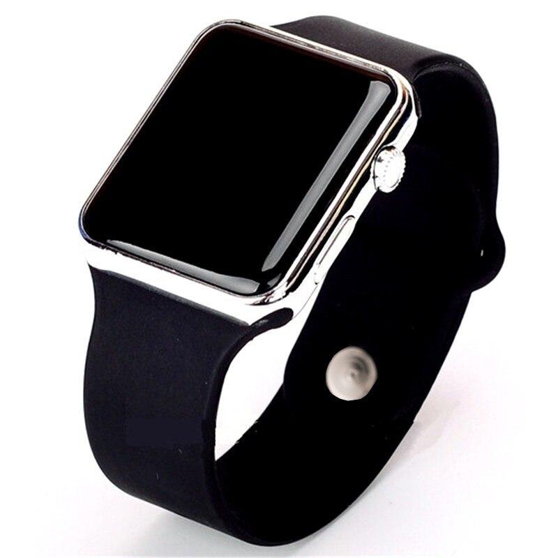 Männer Sport часы Casual LED Digitale Watch  Uhr Mann Armee Military Silikon Armbanduhr Uhr Hodinky Ceasuri Relogio Masculino