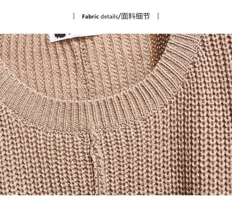 H03a12cd45bfa44e5a34cc3bffe3cf3acv - ICHOIX women 2 piece set knitted tops and skirt set Korean style student casual two piece outfits fall winter set clothing
